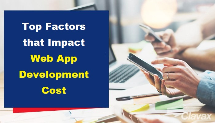factor that impact web development cost