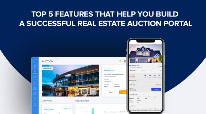 top features in auction portal